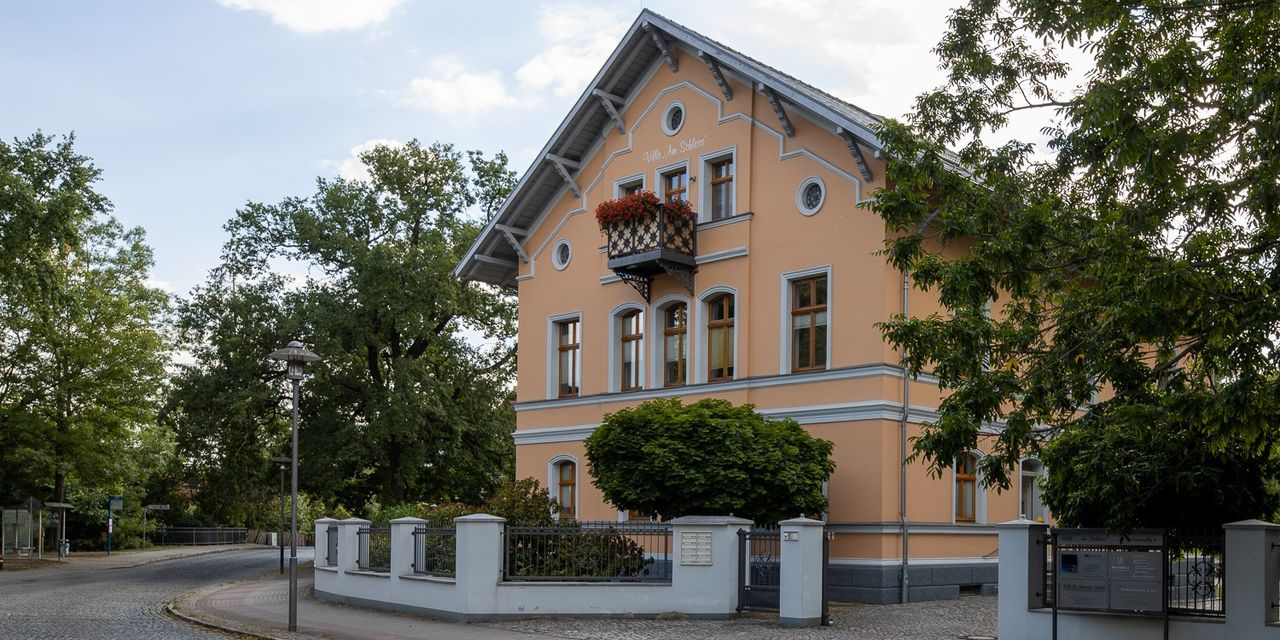 Praxisgebäude in der Altstadt von Hoyerswerda